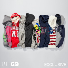 Limited Collection by eight sets of luxurious designers whom Gap and GQ for United States choose
