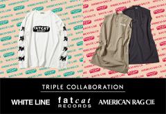 WHITE LINE X fatcat records X AMERICAN...