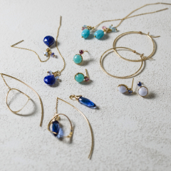 NOJESS Pierced earrings collection