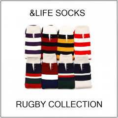 【OSHMAN'S NEWS】ONE TEAM!?《&LIFE SOCKS》履いて スタジアムへGO!